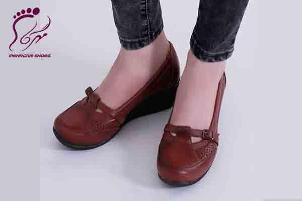کفش رسمی زنانه چرم