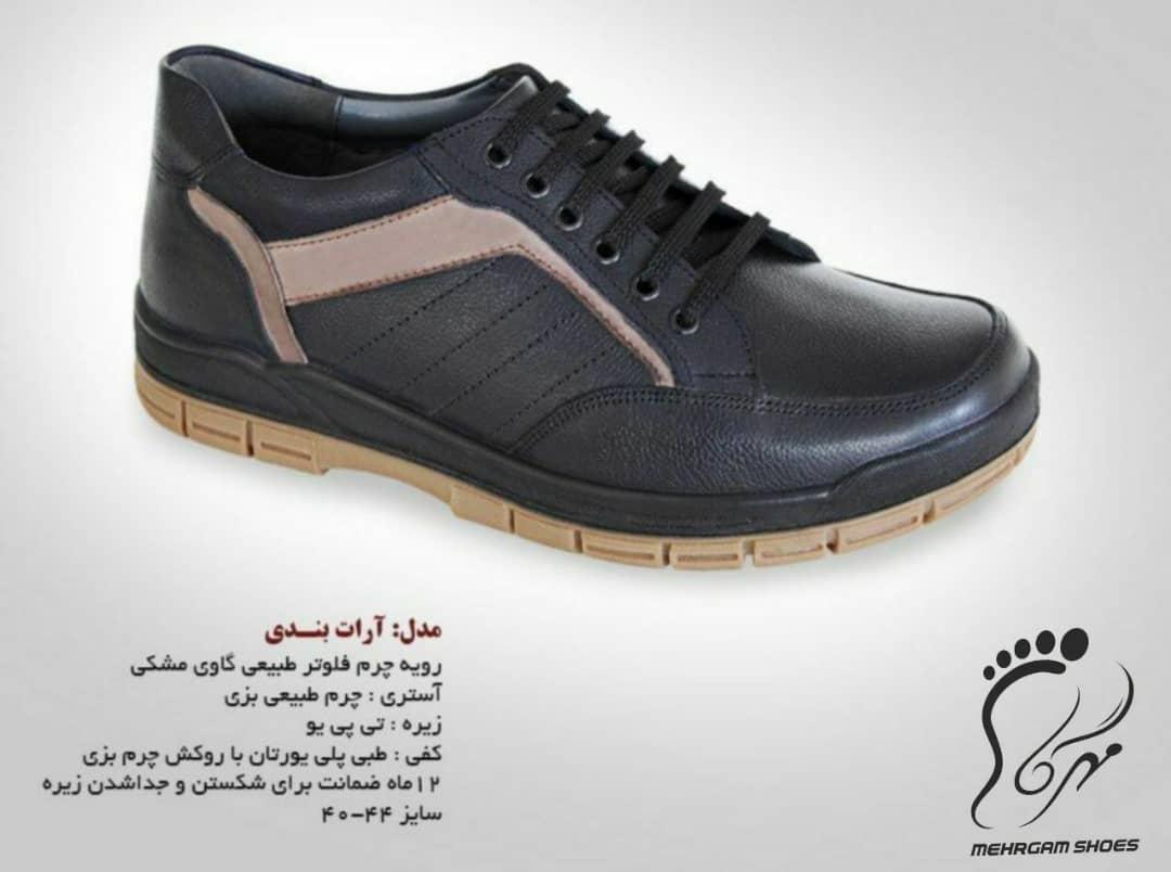 سفارش تولید کفش چرم مردانه
