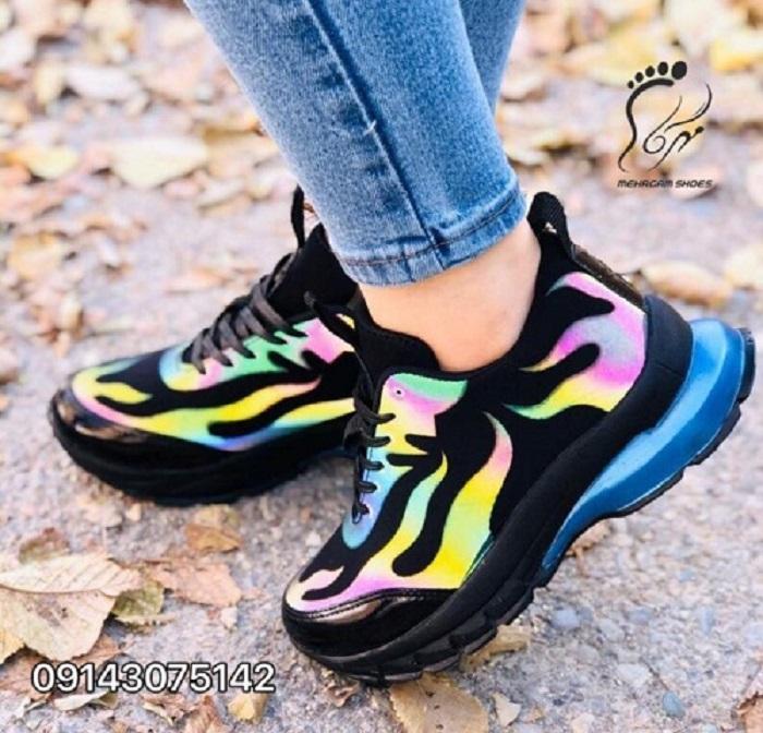 خرید کفش اسپرت دخترانه ارزان